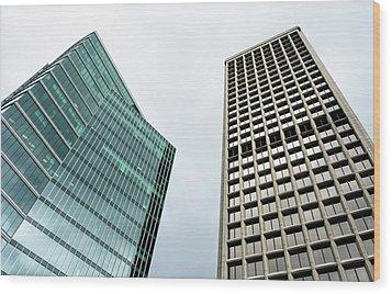City 1220 Wood Print
