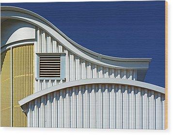 City 190 Wood Print
