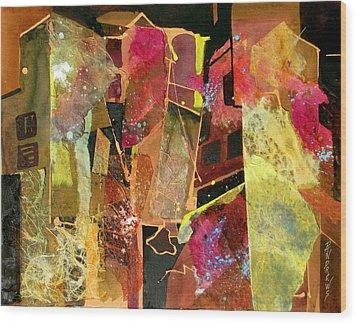 City Colors Wood Print