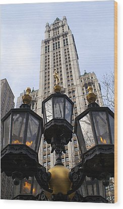 City Hall Area Nyc Wood Print