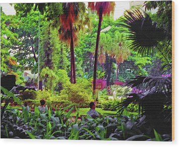 City Jungle 2 Wood Print by Steve Ohlsen