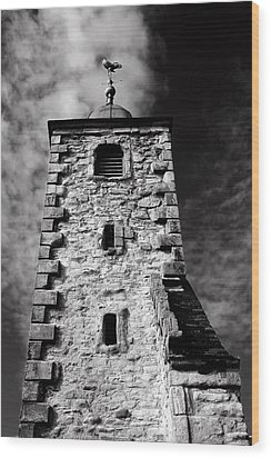 Clackmannan Tollbooth Tower Wood Print by Jeremy Lavender Photography