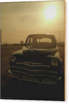 Wood Print featuring the photograph Classic America, Eight by Iconic Images Art Gallery David Pucciarelli