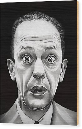 Classic Barney Fife Wood Print by Fred Larucci