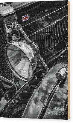 Wood Print featuring the photograph Classic Britsh Mg by Adrian Evans