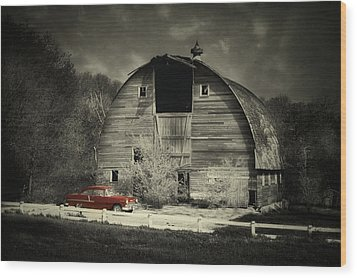 Wood Print featuring the photograph Classic Chevrolet  by Julie Hamilton