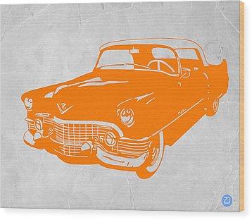 Classic Chevy Wood Print by Naxart Studio
