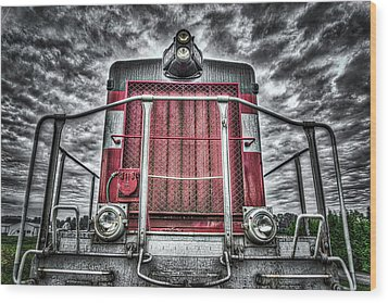 Wood Print featuring the photograph Classic Locomotive by Spencer McDonald