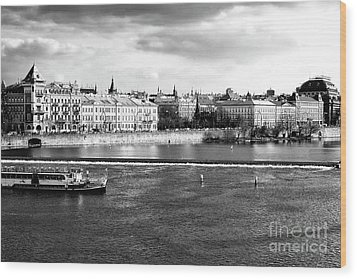 Wood Print featuring the photograph Classic Vltava River by John Rizzuto