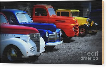 Classics Wood Print by Perry Webster