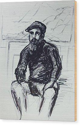 Claude Monet Wood Print