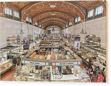 Cleveland Westside Market  Wood Print
