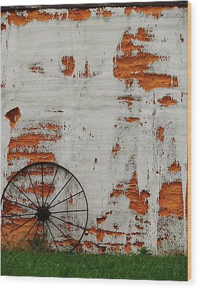 Wood Print featuring the photograph Clever by Cyryn Fyrcyd