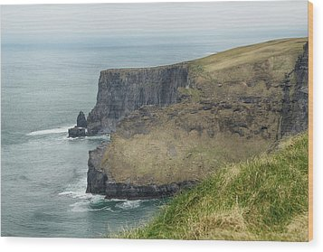 Cliffs Of Moher 1 Wood Print by Marie Leslie