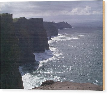 Wood Print featuring the photograph Cliffs Of Moher by Charles Kraus