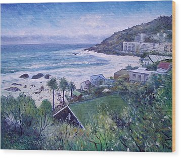 Clifton Beach  Cape Town South Africa 2006  Wood Print by Enver Larney