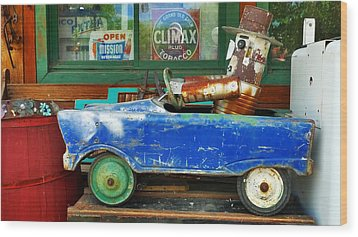 Climax Wood Print by Skip Hunt