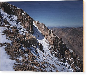 Wood Print featuring the photograph Climb That Mountain by Jim Hill