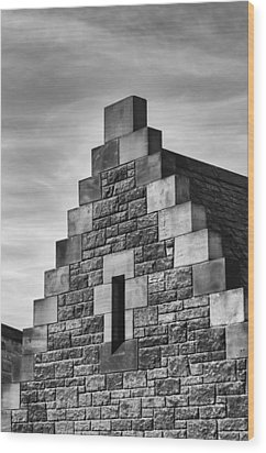 Wood Print featuring the photograph Climbing The Castle by Christi Kraft