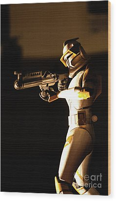 Wood Print featuring the photograph Clone Trooper 7 by Micah May