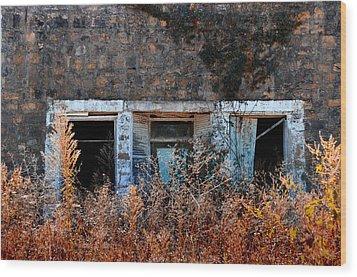 Closed 'til Spring Wood Print by Lyle  Huisken