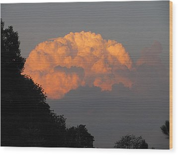 Wood Print featuring the photograph Cloud 2 by Douglas Pike