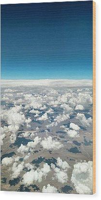 Cloud #9 Wood Print