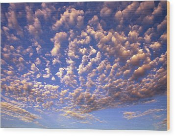 Cloud Expression 1 Wood Print
