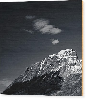 Cloud Formation Wood Print by Dave Bowman