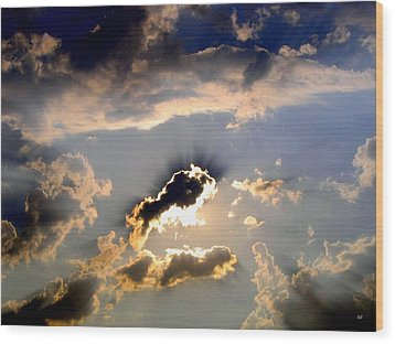 Cloud Nine 4 Wood Print by Will Borden