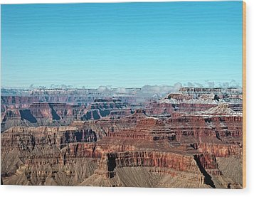 Cloud Over Grand Canyon Wood Print by @Niladri Nath