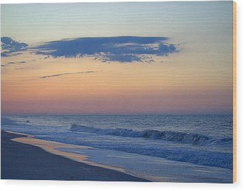 Wood Print featuring the photograph Clouded Pre Sunrise by  Newwwman