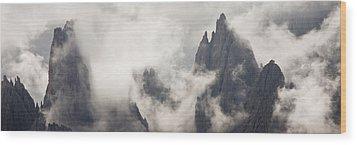 Clouds 1026 Wood Print by Marco Missiaja