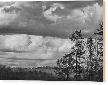 Clouds 2 Wood Print