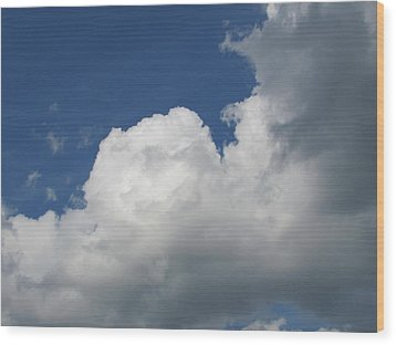 Wood Print featuring the photograph Clouds 5 by Douglas Pike