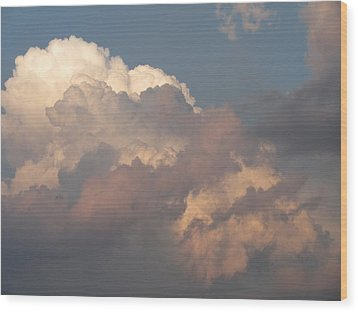 Wood Print featuring the photograph Clouds 6 by Douglas Pike
