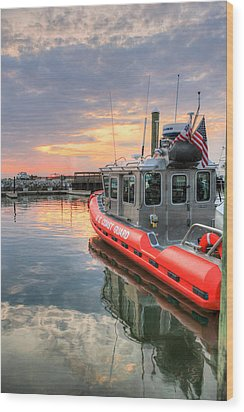Wood Print featuring the photograph Coast Guard Anacostia Bolling by JC Findley
