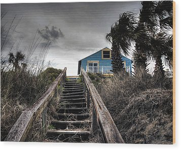 Wood Print featuring the photograph Coast by Jim Hill