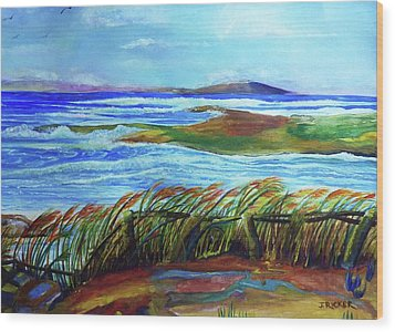 Coastal Winds Wood Print