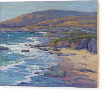 Coastal Cruising 8, San Simeon Wood Print