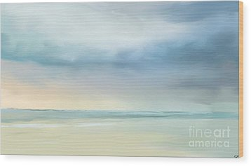 Coastal Vista Wood Print