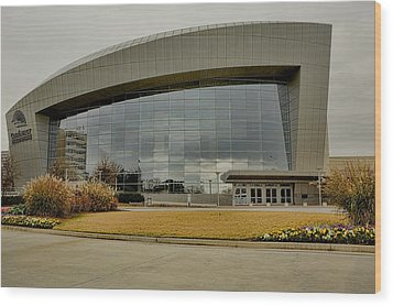 Wood Print featuring the photograph Cobb Center by Kim Wilson