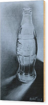 Coca-cola For You  Wood Print by Angelina G T