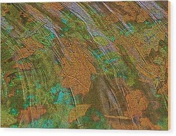 Cocoa's Pool Wood Print