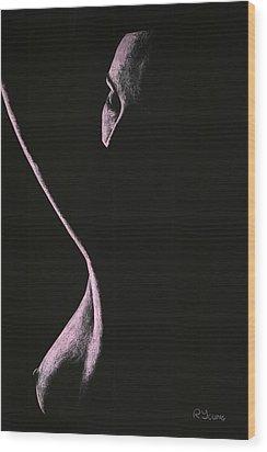 Coercion Wood Print by Richard Young