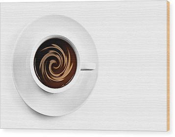 Wood Print featuring the photograph Coffee And Cream by Gert Lavsen
