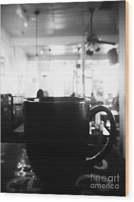 Wood Print featuring the photograph Coffee Shop by Utopia Concepts