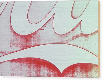 Wood Print featuring the photograph Coke 4 by Laurie Stewart