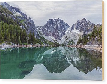 Colchuck Lake Wood Print