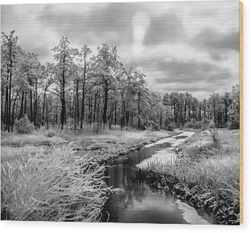Cold Creek Wood Print